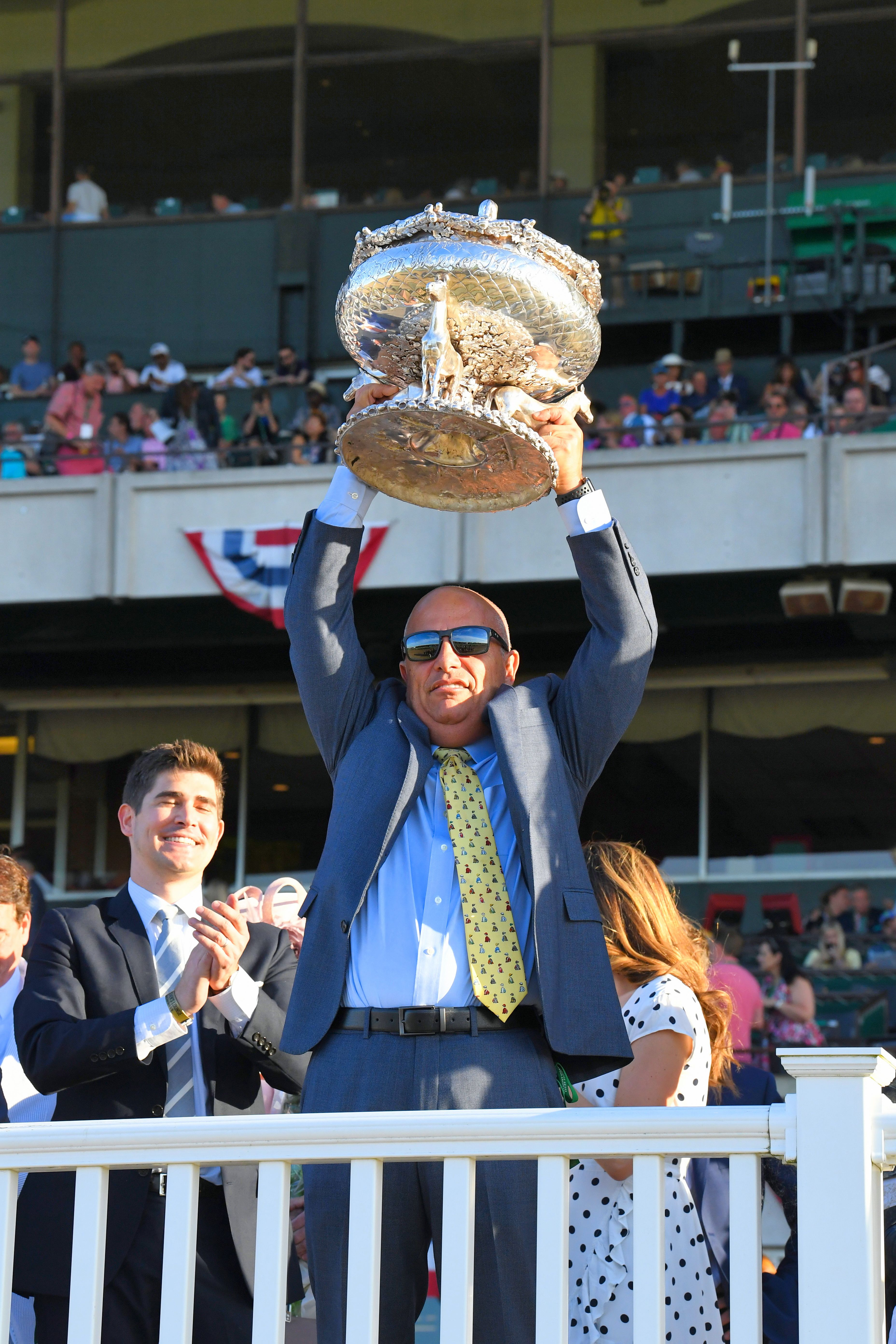 Mark Casse, 2019 Belmont Stakes (NYRA)