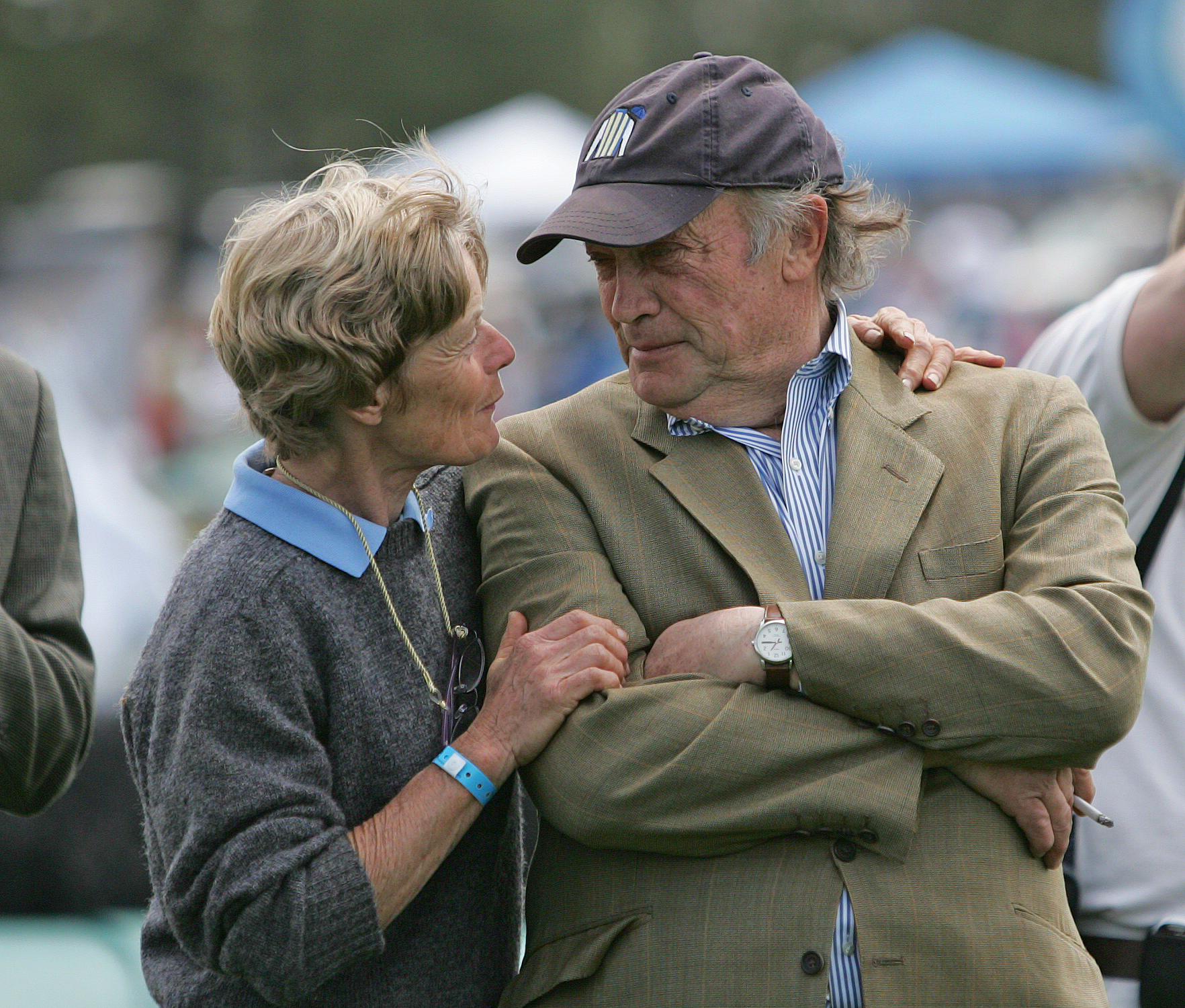 Janet Elliot and Tom Voss (Tod Marks)