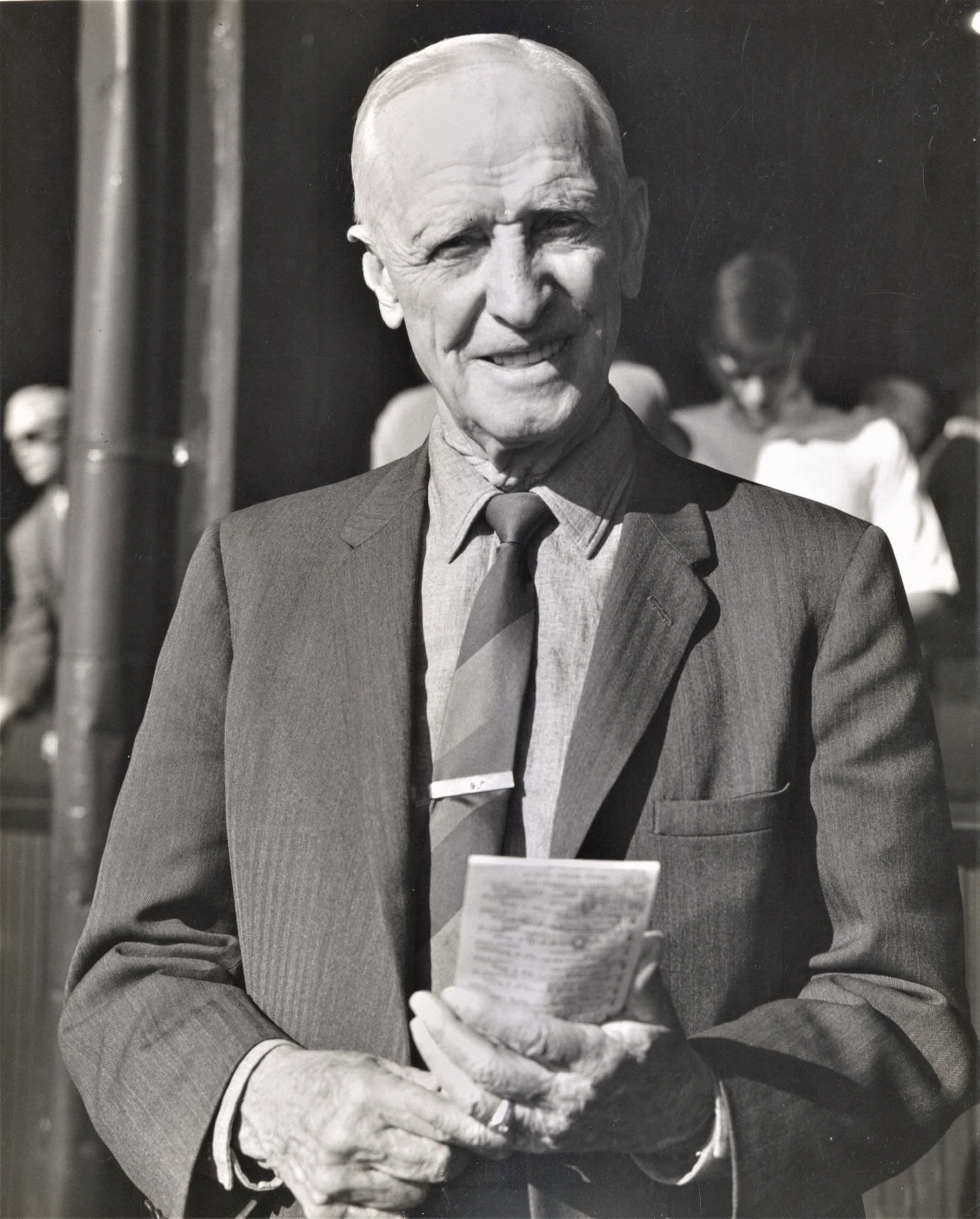 Frank E. Childs in 1966 (Keeneland Association)