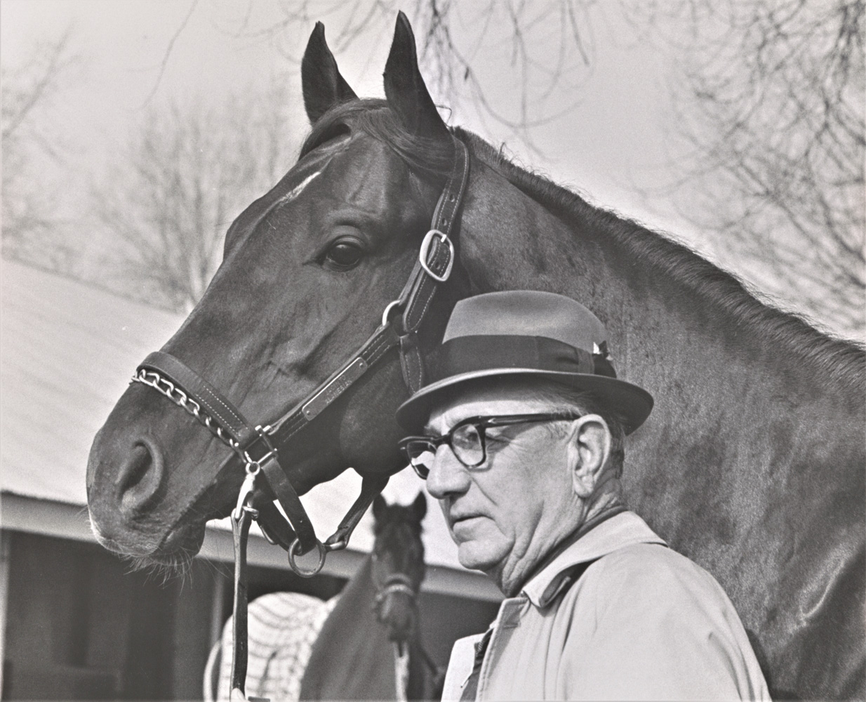 Henry Forrest with Jackal, undated (Keeneland Association)