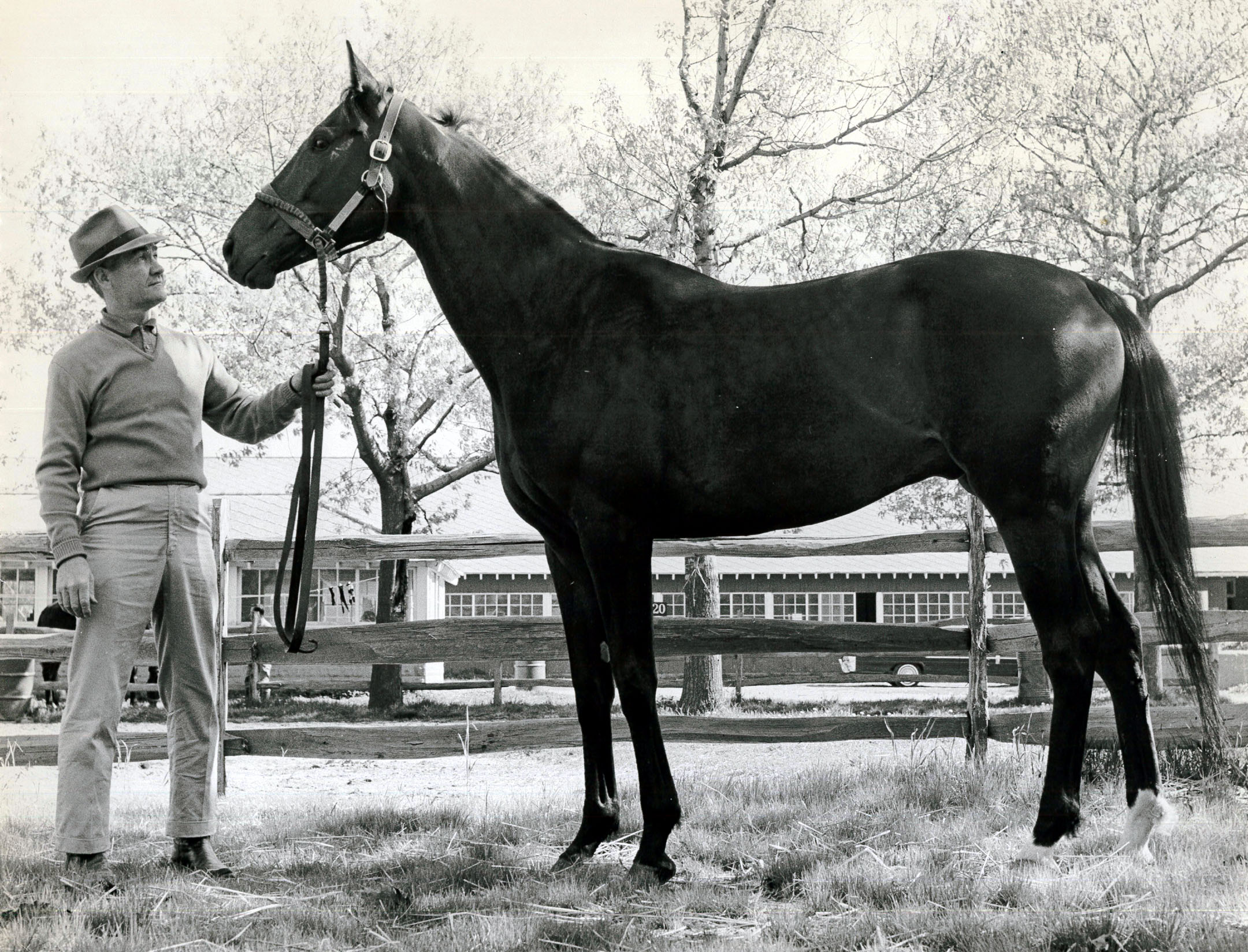 Carl Hanford and Kelso (NYRA/Paul Schafer /Museum Collection)