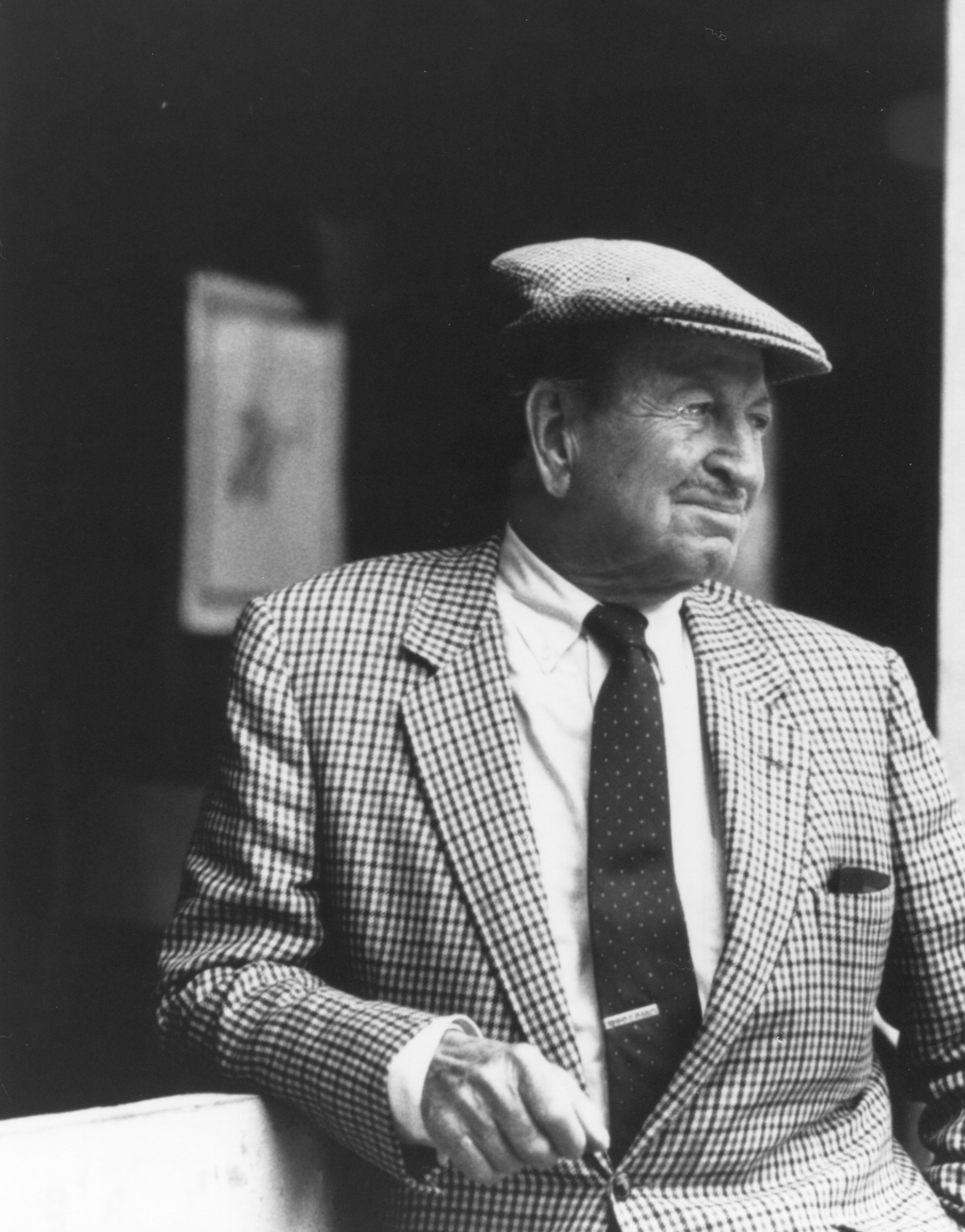 Horatio Luro in 1980 (Museum Collection)
