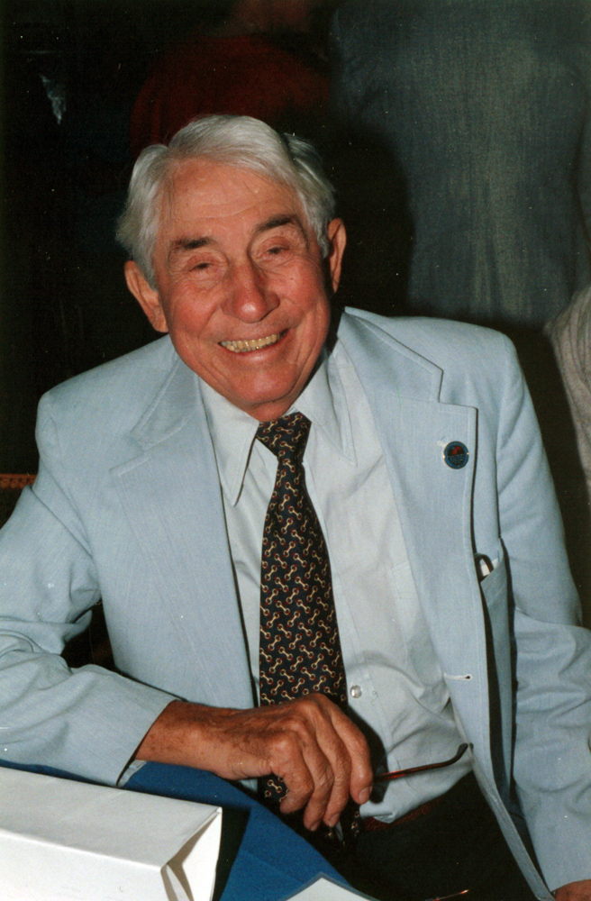 John Nerud at Hall of Fame Day, August 1990 (Barbara D. Livingston/Museum Collection)