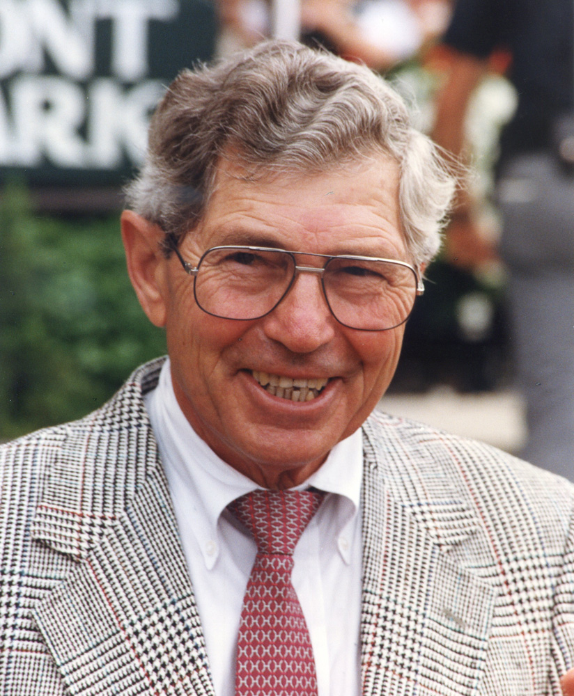 Scotty Schulhofer at Saratoga Race Course, 1991 (Barbara D. Livingston/Museum Collection)