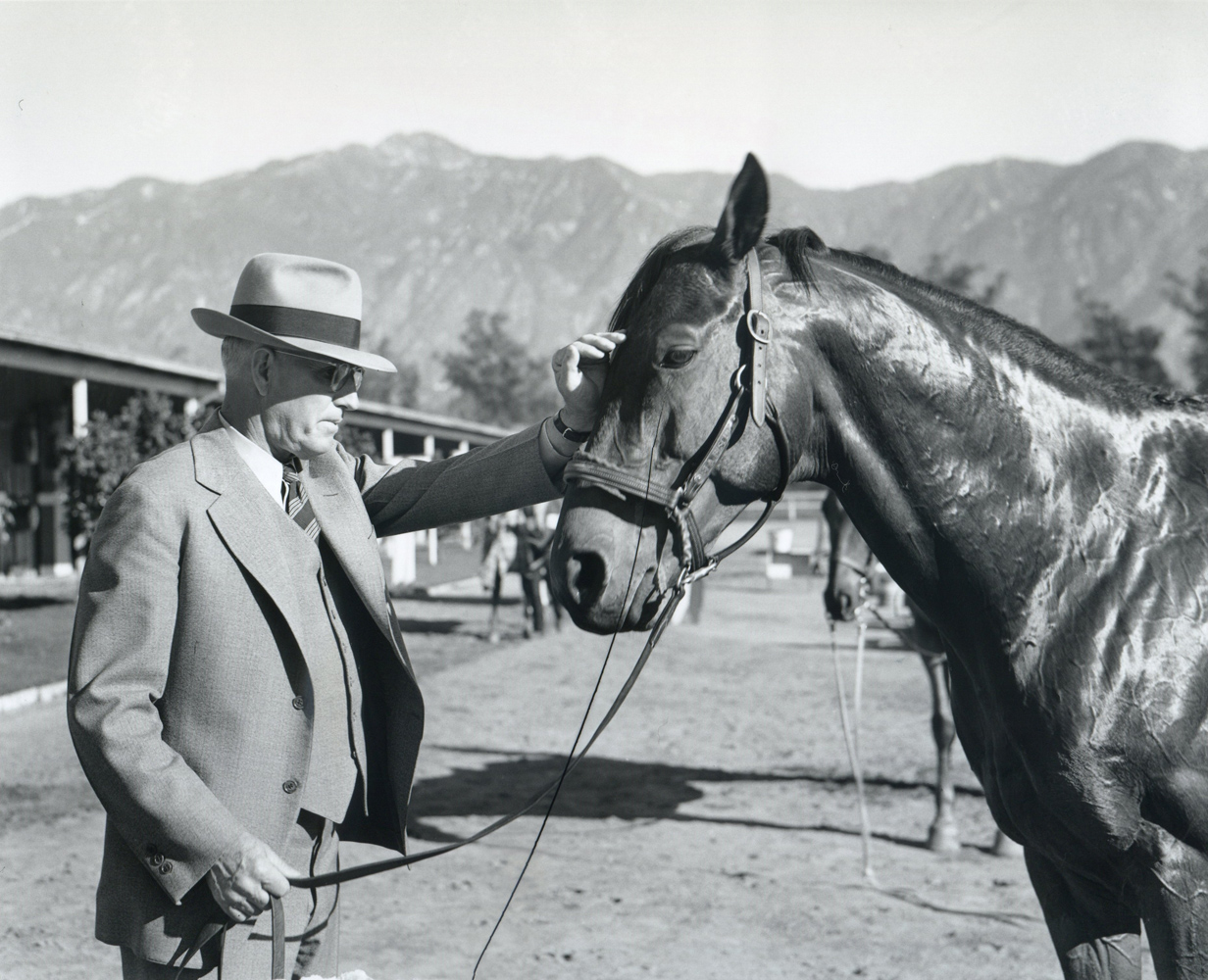 Tom Smith and Seabiscuit (AP/Wide World Photos /Museum Collection)