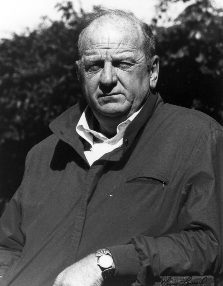 Jack Van Berg in 1985 (Museum Collection)