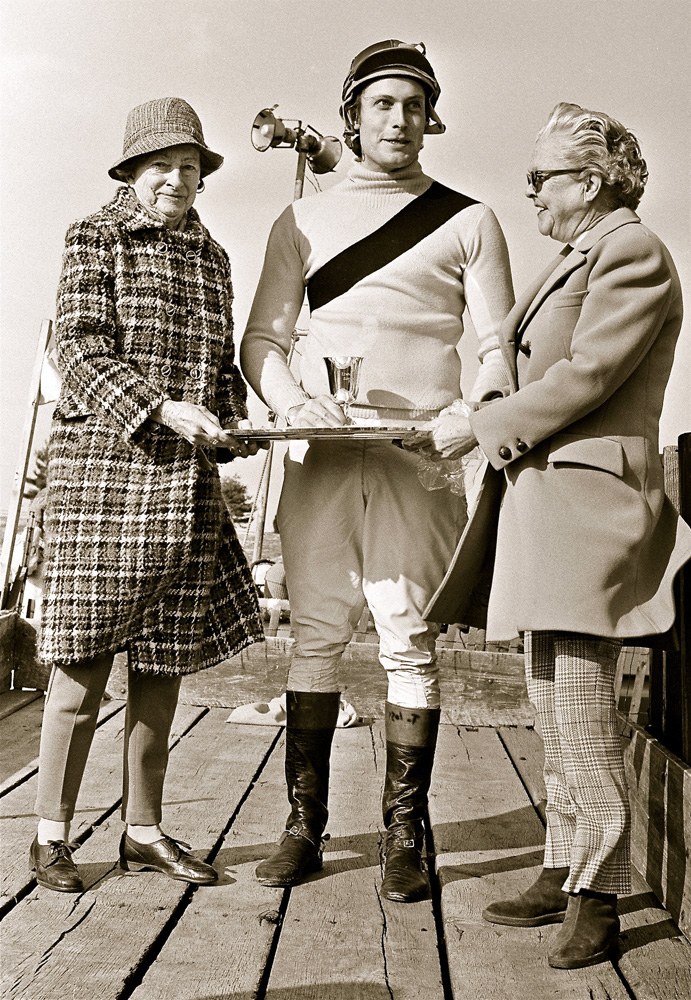 A young Tom Voss in his steeplechase jockey days before he began his Hall of Fame training career (Douglas Lees)