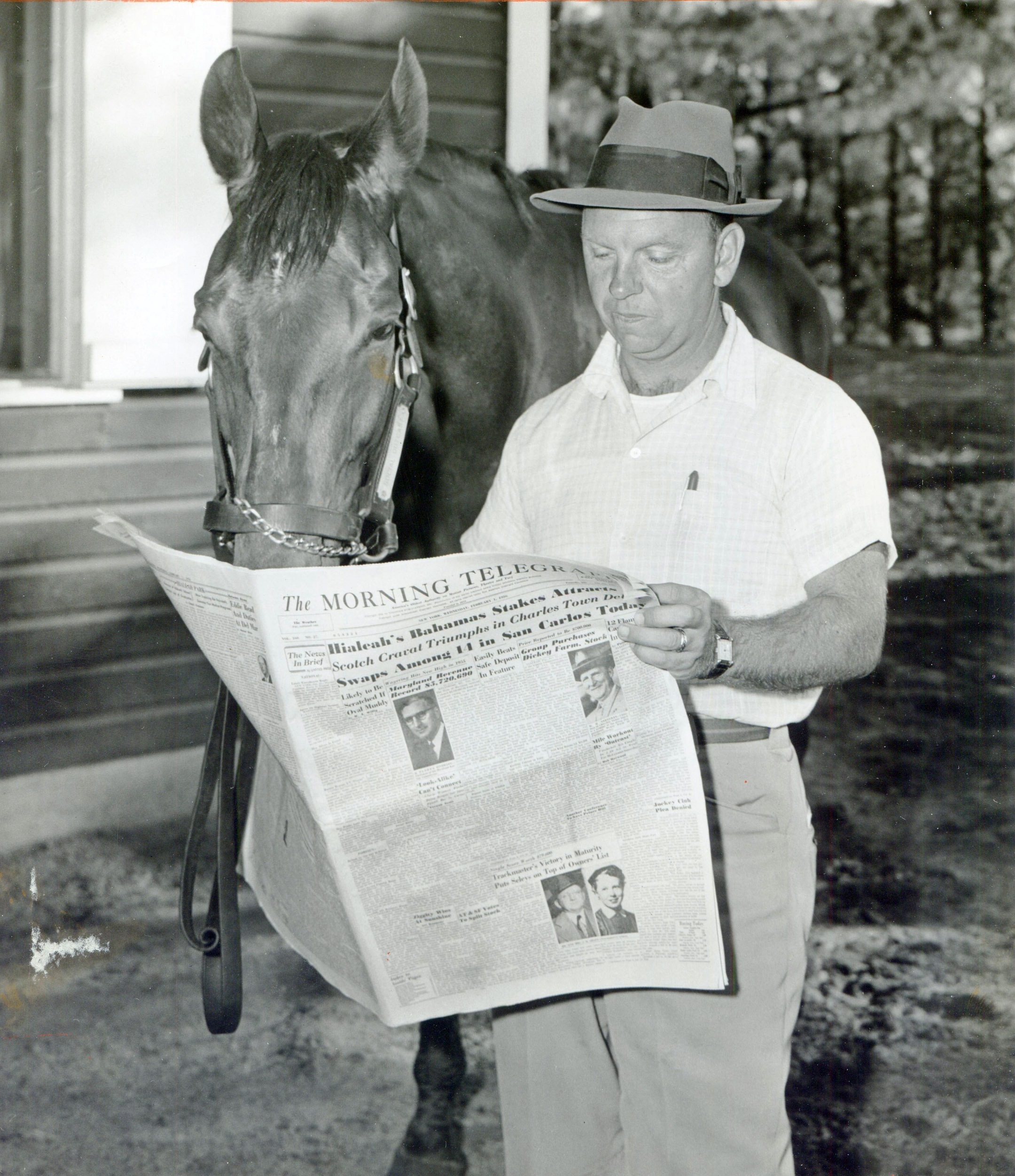 William C. Winfrey with Social Outcast (Museum Collection)