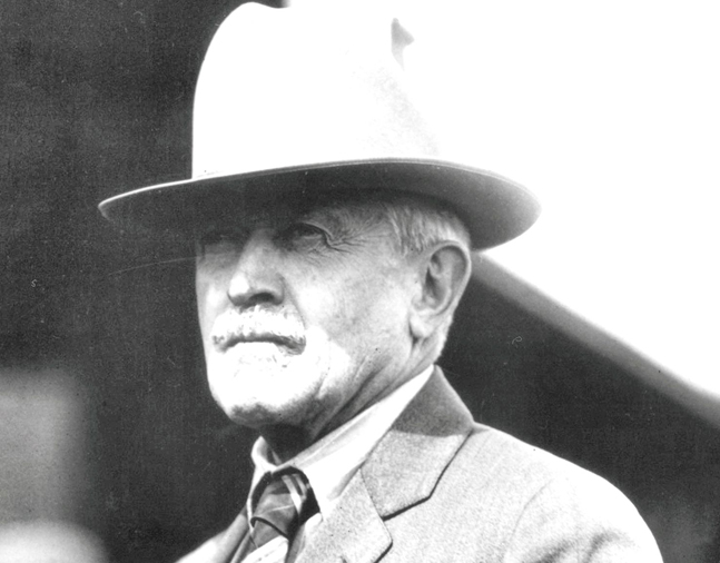 Henry McDaniel in 1928 (C. C. Cook/Museum Collection)
